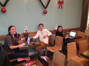 zona wifi ordenador toma electrica cafeterias sevilla
