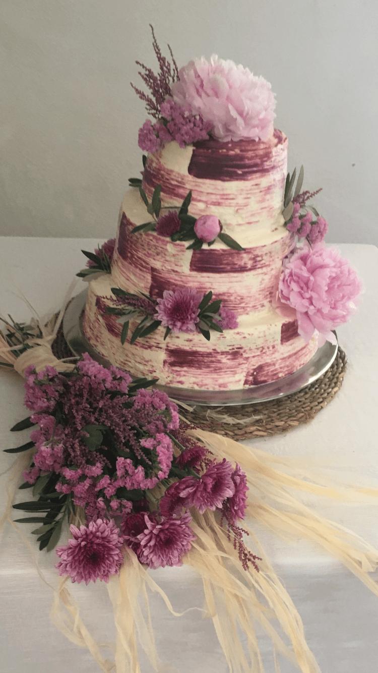diseño de tartas para bodas en sevilla