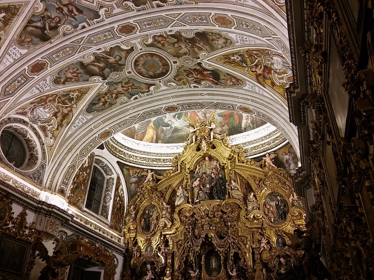 retablo mayor de la iglesia san luis de los franceses sevilla