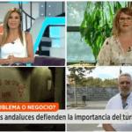 sandrine sanchez gerente de la creme de la creme en antena 3 espejo publico