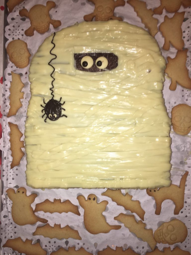 tartas para cumpleaños y hallowen