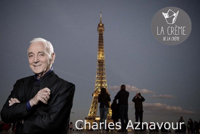 Francia rinde homenaje a cantante Charles Aznavour en la Torre Eiffel de Paris Octubre 2018