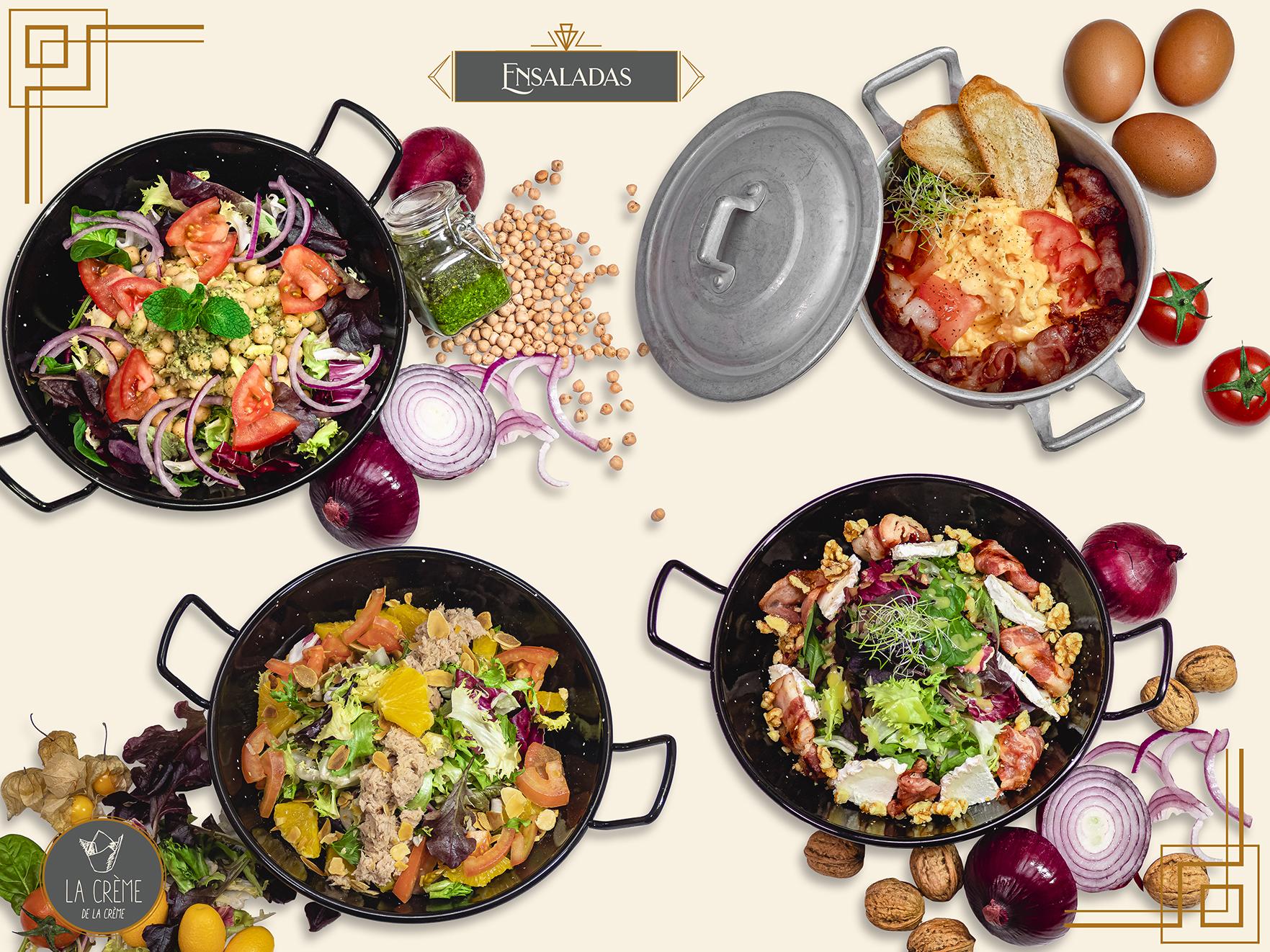 ensaladas en sevilla. restaurantes de ensaladas en sevilla