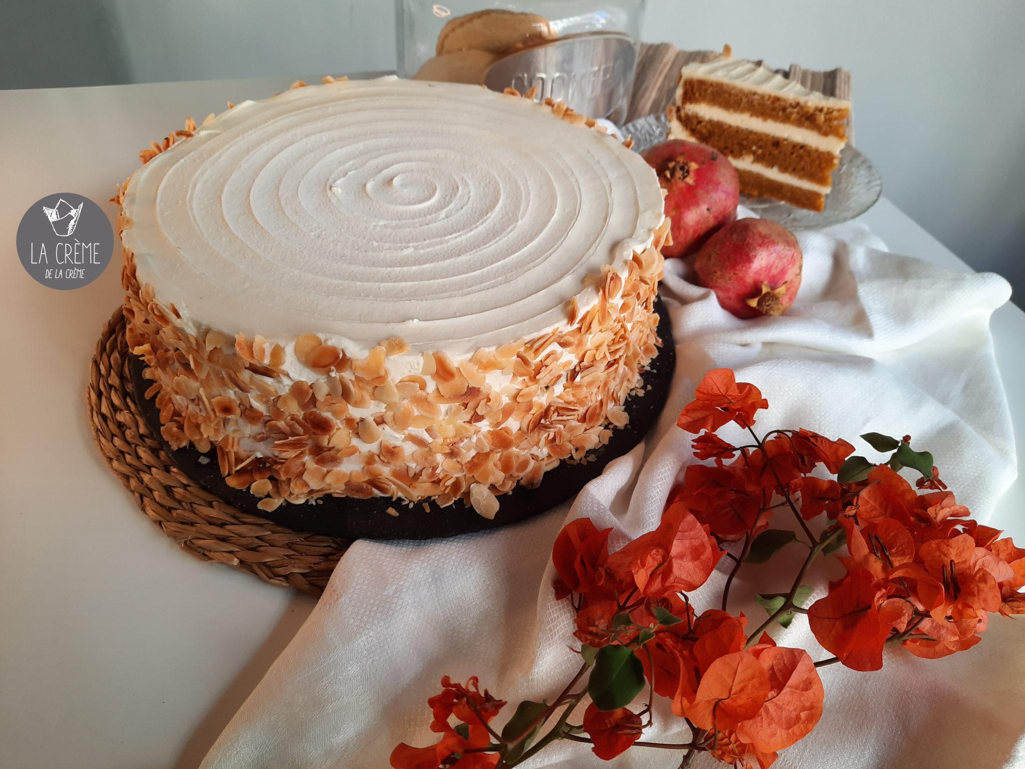tartas artesanas en sevilla con logo