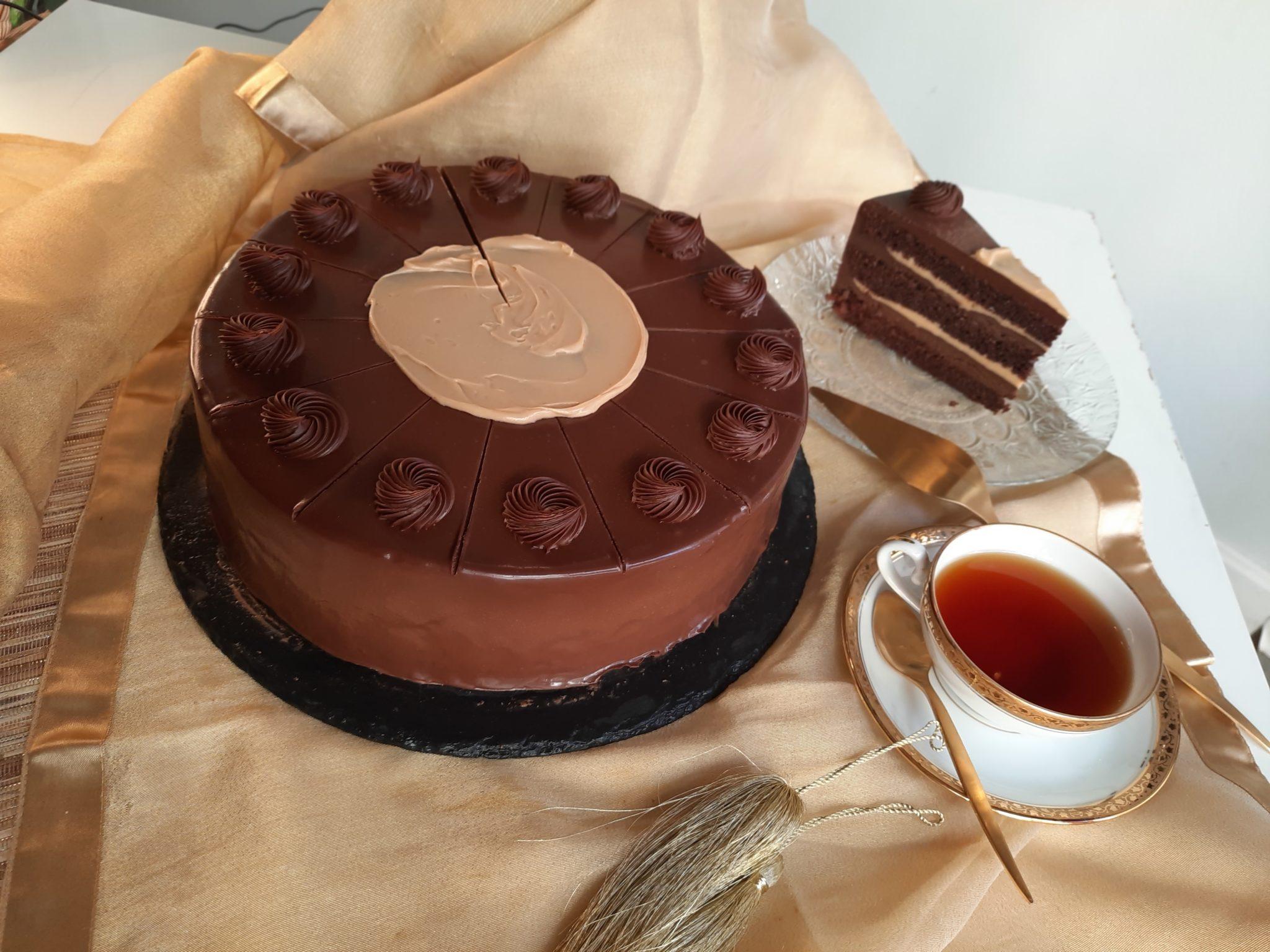 tarta de chocolate a domicilio en Sevilla